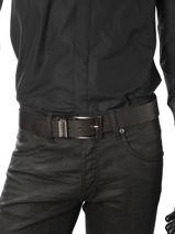 Ceinture Redskins Noir belt DEVIL-vue-porte