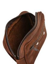 Messenger Bag Foures Brown 9105-vue-porte
