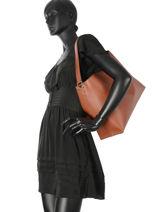 Shoulder Bag Nellie Emporio armani Brown nellie 23Y3E081-vue-porte