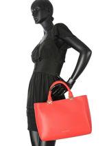 Shopping Bag Nellie Emporio armani Red nellie 23Y3D091-vue-porte