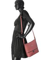 Shoulder Bag Altra Hexagona Pink altra 645158-vue-porte