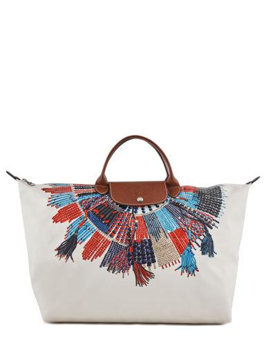 Longchamp Sac de voyage Multicolore