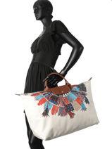 Longchamp Sacs de voyage Multicolore-vue-porte