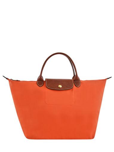 Longchamp Sacs porté main Orange