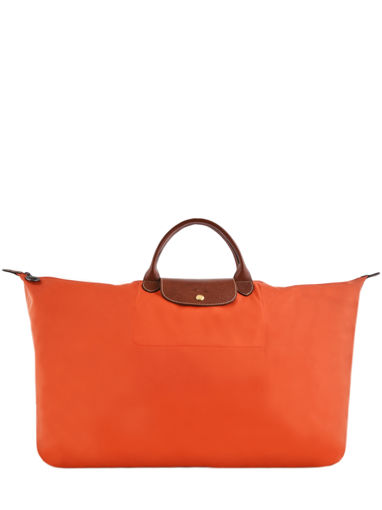 Longchamp Sac de voyage Orange