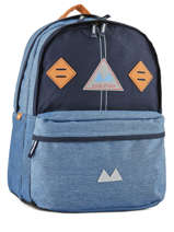 Backpack 2 Compartments Poids plume Blue be light PLI17537