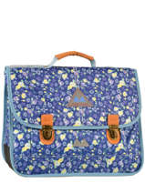 Satchel 2 Compartments Poids plume Blue be all over color PCO15417