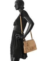 Shoulder Bag Cheyenne Etrier Pink cheyenne ECHE01+-vue-porte