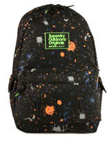 Backpack 1 Compartment Superdry Black backpack men M91004JQ