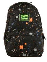 Sac à Dos 1 Compartiment Superdry Noir backpack men M91004JQ