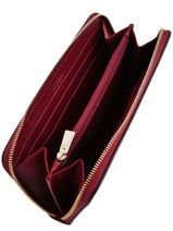 Wallet Leather Babylon Furla Red babylone BAB-BPS5-vue-porte