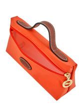 Longchamp Clutch Orange-vue-porte