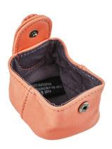 Purse Leather Nat et nin Pink vintage SWEETIE-vue-porte