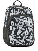 Sac à Dos 2 Compartiments Quiksilver Noir youth access QYBP3428