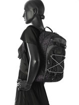 Backpack 1 Compartment Dakine Black girl packs 8210-105-vue-porte