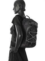 Sac à Dos 1 Compartiment Dakine Noir girl packs 8210-105-vue-porte