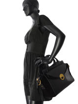 Top Handle Vintage Nat et nin Black vintage JOSEFIN-vue-porte
