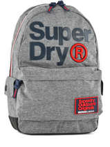 Sac à Dos 1 Compartiment Superdry Gris backpack men M91004DQ