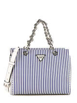Sac Porté Main Sawyer Guess Bleu sawyer ST695905