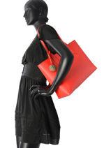 Shoulder Bag A4 Frida Emporio armani Orange frida 15Y3D081-vue-porte