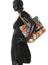 Longchamp Besaces Multicolore-vue-porte