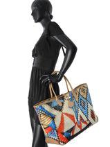 Longchamp Sacs porté main Multicolore-vue-porte