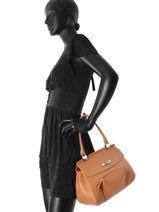 Longchamp Besaces Marron-vue-porte