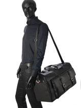 Travel Bag Th City Tommy hilfiger Black th city AM02935-vue-porte