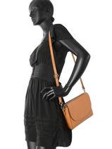 Shoulder Bag  Leather Milano Brown CA17068-vue-porte