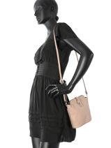 Mini-bag  Leather Milano Pink 122-vue-porte
