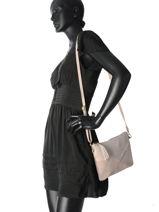 Shoulder Bag Velvet Night Milano Pink velvet night 1011VN-vue-porte