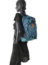 Sac à Dos 1 Compartiment Dakine Bleu girl packs 8210-105-vue-porte