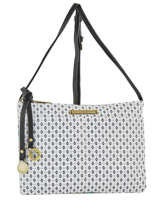 Sac Bandoulière New Flower Lulu castagnette Blanc new flower ITTENNE