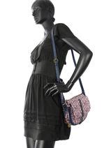 Crossbody Bag Liberty Lulu castagnette Blue liberty IRENEI-vue-porte