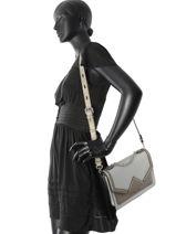 Shoulder Bag Klassik Leather Karl lagerfeld Multicolor klassik 81KW3023-vue-porte