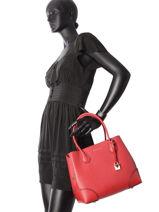 Shopping Bag Mercer Gramercy Leather Michael kors Red mercer gramercy H7GZ5T6A-vue-porte
