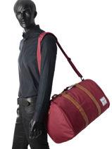 Sac De Voyage Supply Herschel Rouge supply 10026-vue-porte