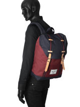 Backpack 1 Compartment Herschel Multicolor offset 10066-O-vue-porte