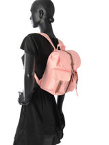 Backpack 1 Compartment Herschel Pink classics 10301-vue-porte