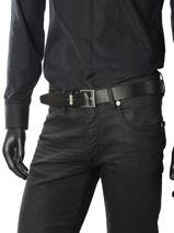 Belt Tommy hilfiger Black belt AM03320-vue-porte