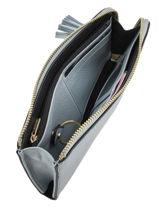 Wallet Leather Etrier Blue paris EPAR95-vue-porte