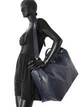 Longchamp Sacs de voyage Bleu-vue-porte