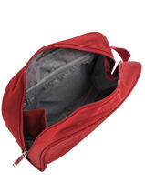Toiletry Kit Jump Red toledo2 soft TL07-vue-porte