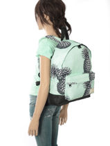 Sac à Dos 1 Compartiment Roxy Rose backpack RJBP3637-vue-porte