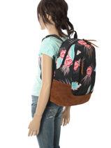 Backpack 1 Compartment Roxy Multicolor backpack RJBP3680-vue-porte