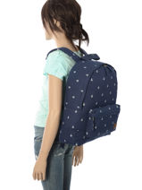 Sac à Dos 1 Compartiment Roxy Multicolore backpack RJBP3640-vue-porte