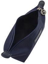 Longchamp Le pliage neo Pochettes Bleu-vue-porte
