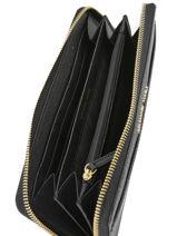 Wallet Leather Michael kors Black money pieces S7GM9E9L-vue-porte