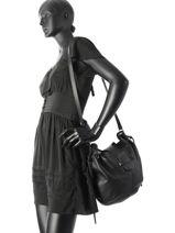 Shoulder Bag Charly Leather Sonia rykiel Black charly 8170-9-vue-porte