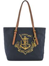 Sac Cabas A4 Seabrook Lauren ralph lauren Bleu seabrook 31687514